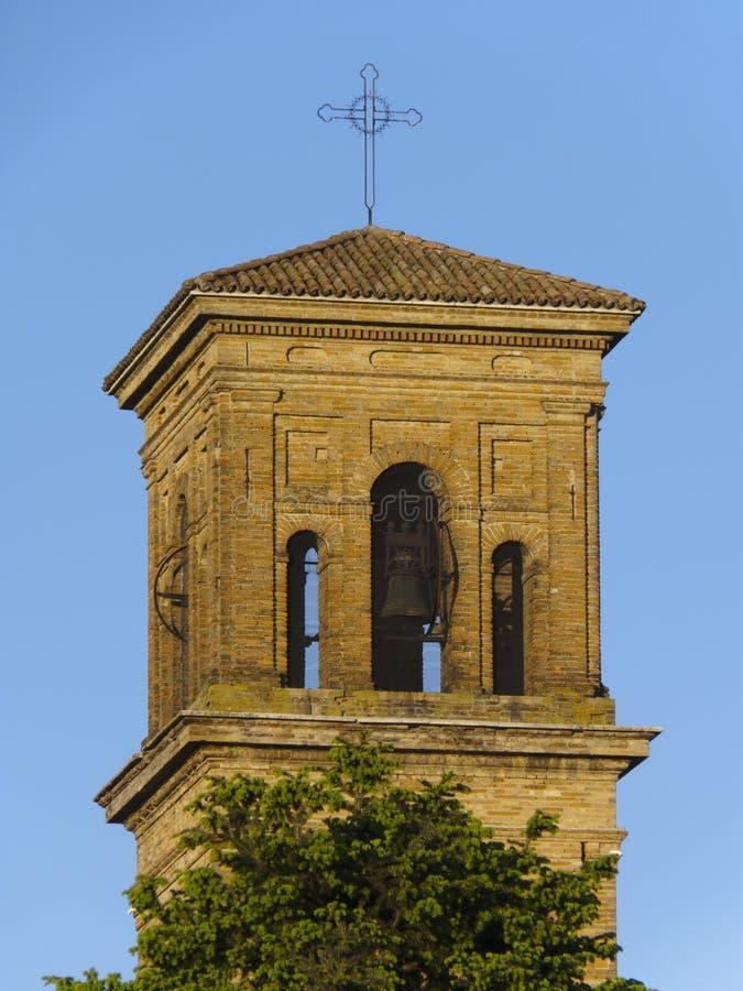 Chiaravalle klockatorn royaltyfri fotografi