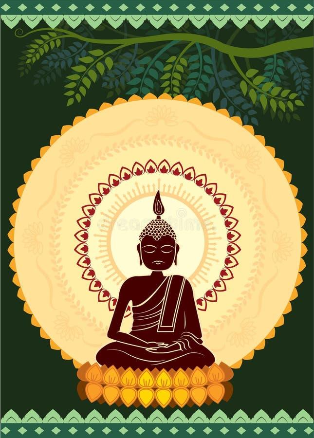 Chiarimento Buddha royalty illustrazione gratis