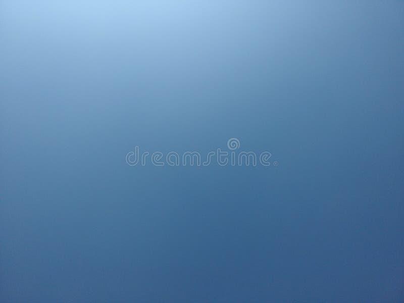 Chiaro cielo blu fotografie stock