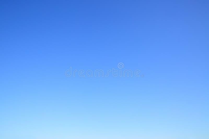 Chiaro cielo blu senza nuvole fotografie stock libere da diritti