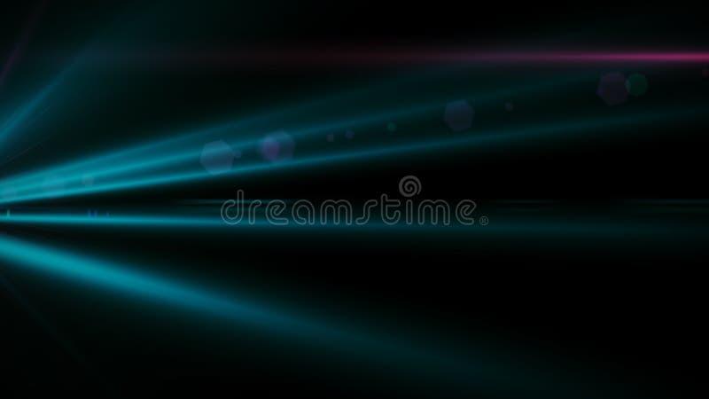 Chiarore reale della lente sparato in studio sopra fondo nero Facile aggiungere come la sovrapposizione o foto del filtro a sipar fotografia stock libera da diritti