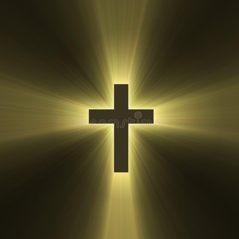 Chiarore trasversale santo dell'indicatore luminoso del sole illustrazione di stock