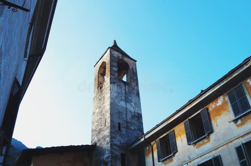 Chiavenna, Ιταλία στοκ φωτογραφία