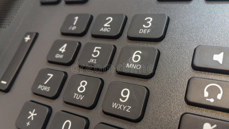 Chiavi del telefono fotografie stock
