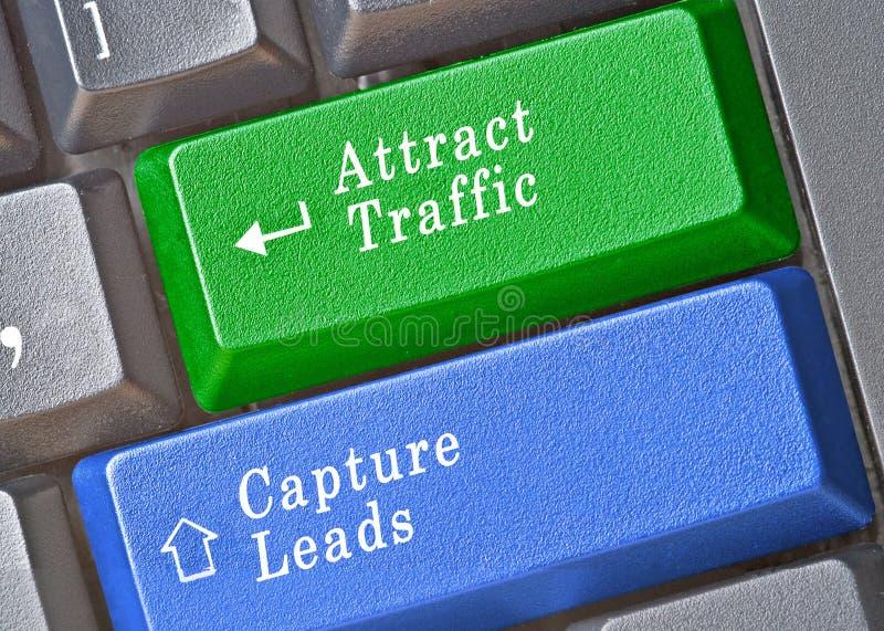 chiavi per l'introduzione sul mercato online immagine stock libera da diritti