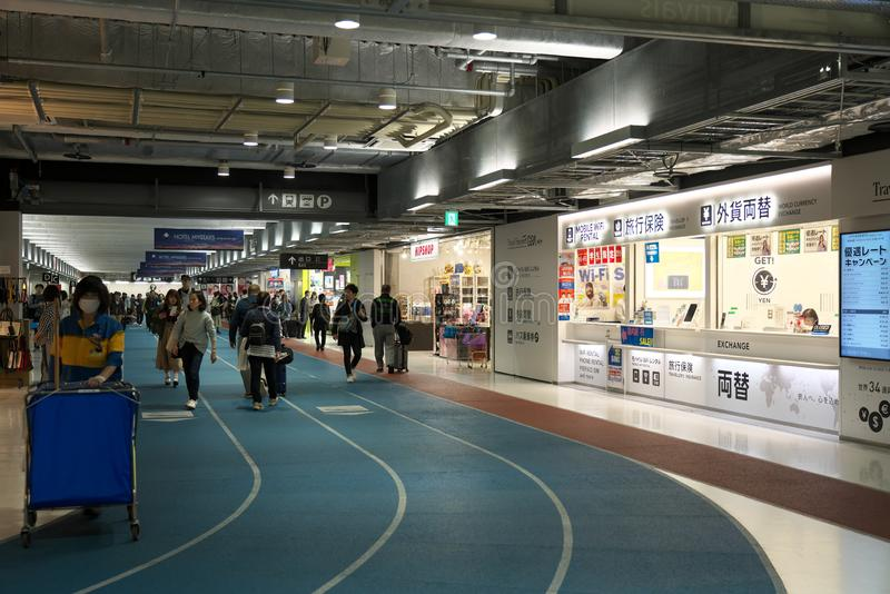 Narita International Airport Terminal 3 royalty free stock photo