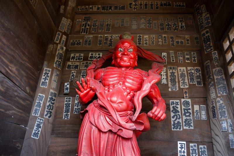 chiba tempel royaltyfri foto