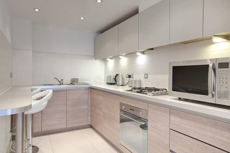 Chic Kitchen Stock Images