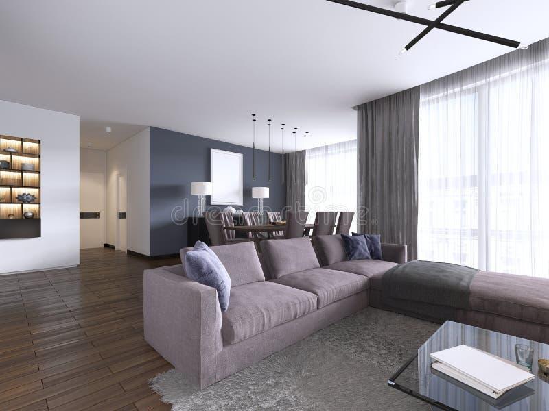 Modern Chic Living Room Stock Illustrations – 479 Modern ...