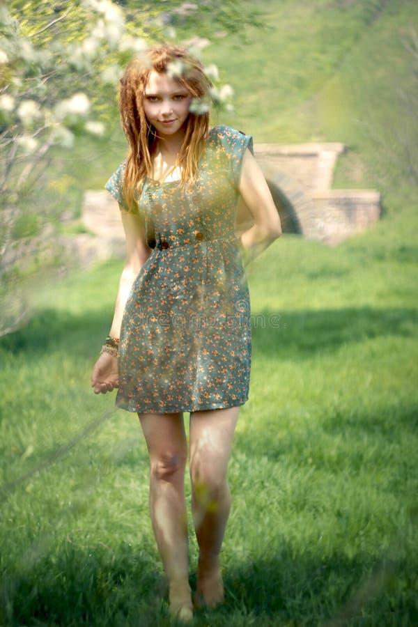 Chica foto de archivo