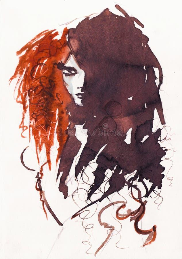 Chica libre illustration