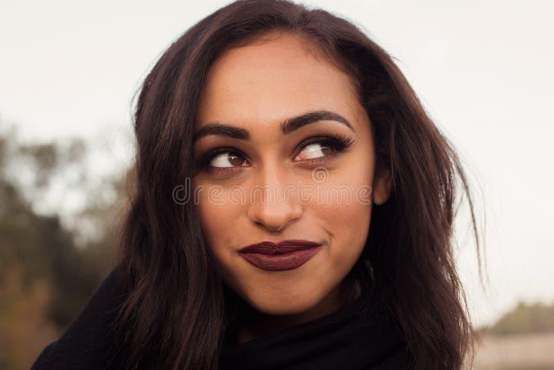 Chica de portada fotografía de archivo