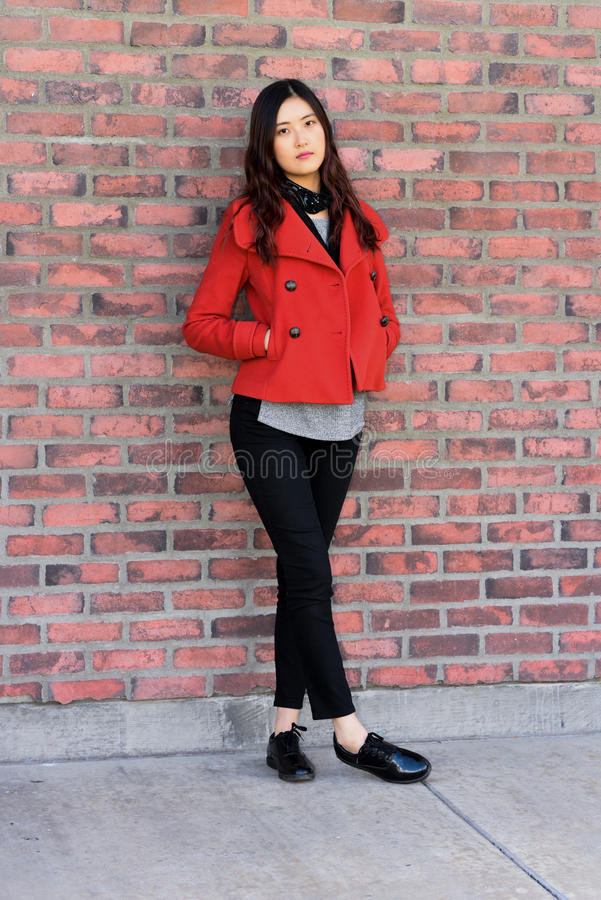 Chica de portada imagen de archivo libre de regalías