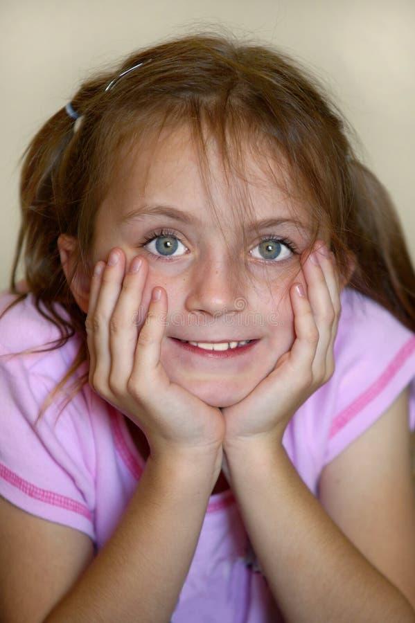 Download Chica joven foto de archivo. Imagen de loving, joven, stare - 1281178