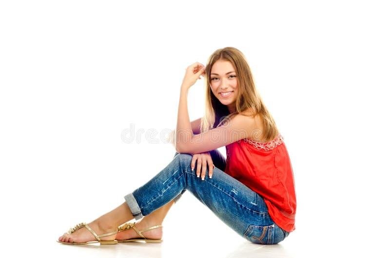 Chica joven foto de archivo