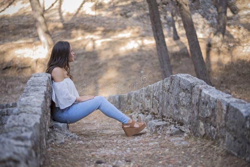 Chica joven foto de archivo libre de regalías