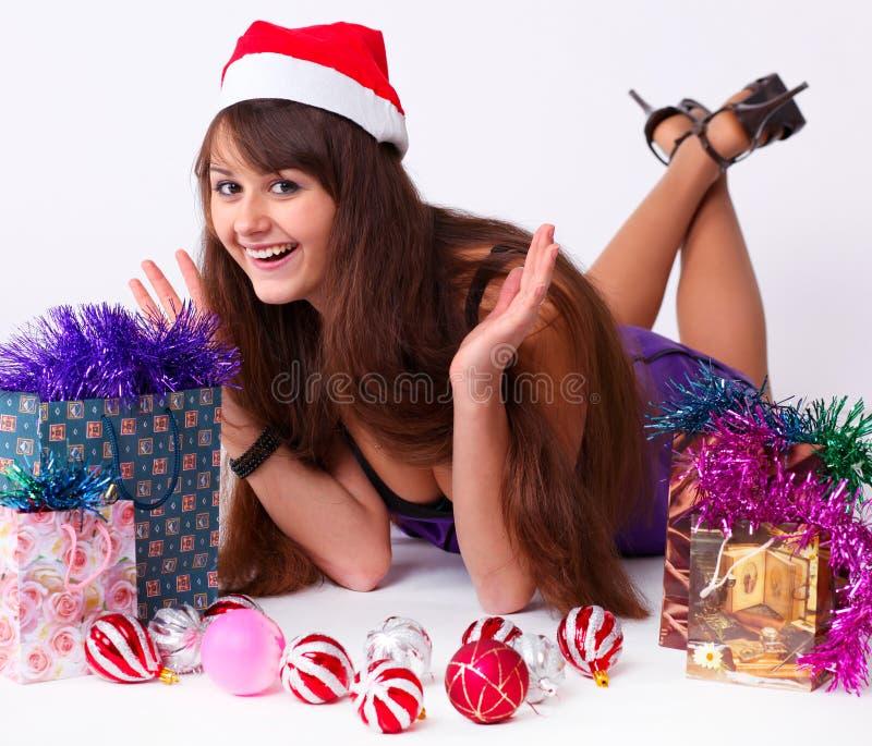 Chica joven atractiva imagen de archivo libre de regalías