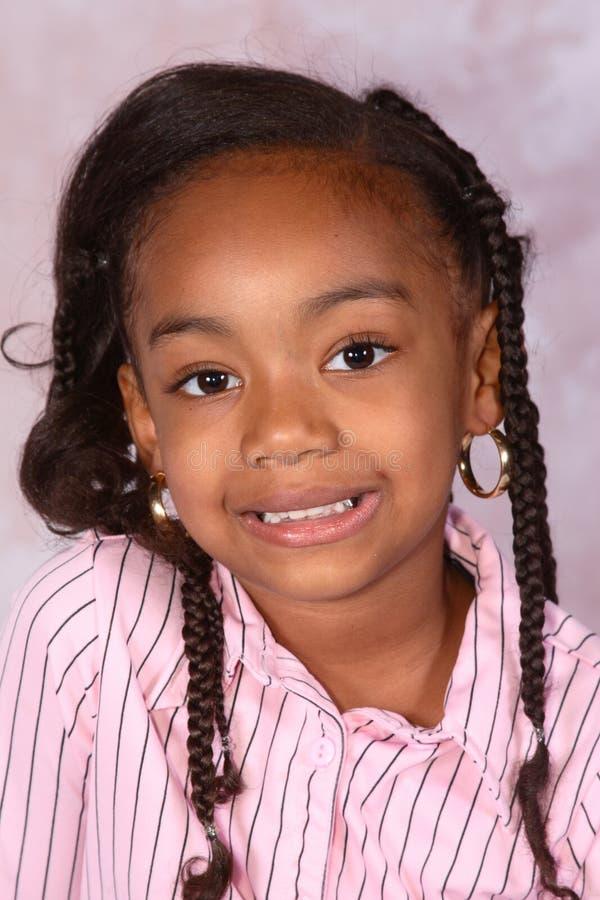 Chica joven feliz fotos de archivo