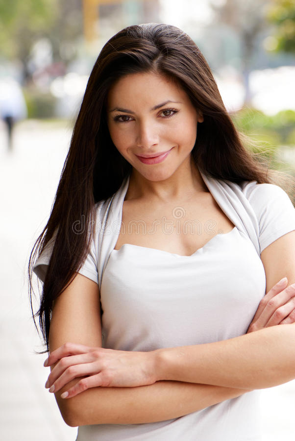 Chica joven hermosa. fotografía de archivo
