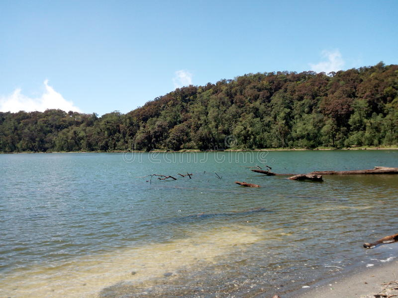 Chicabal jezioro zdjęcia royalty free