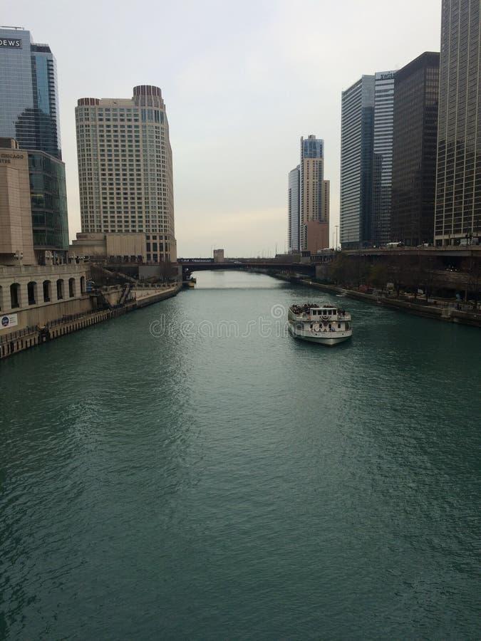Chicago é a imagens de stock