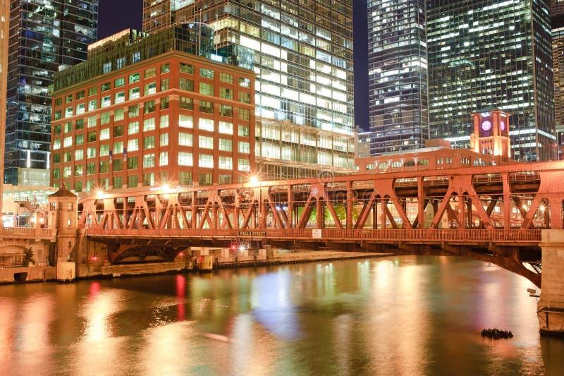 chicago городской стоковые изображения