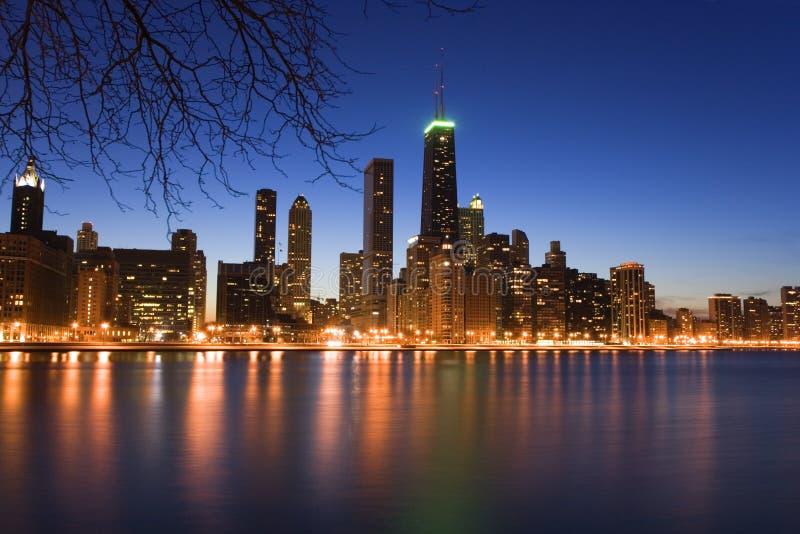 chicago городской стоковое изображение rf