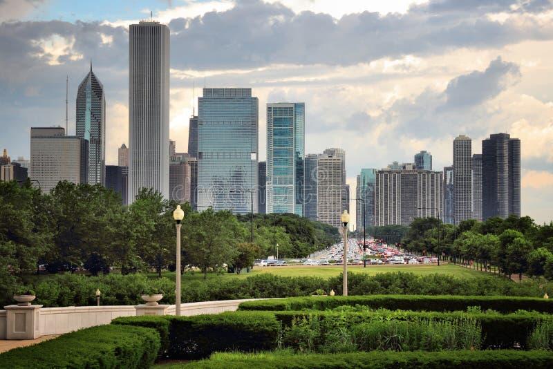 chicago arkivbild