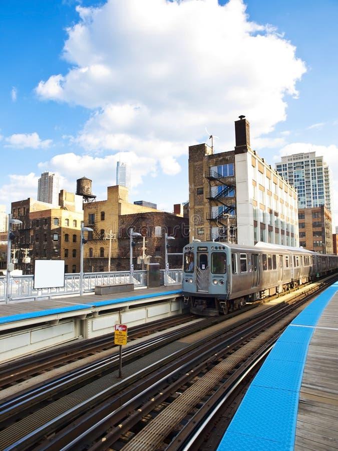 A Chicago imagem de stock