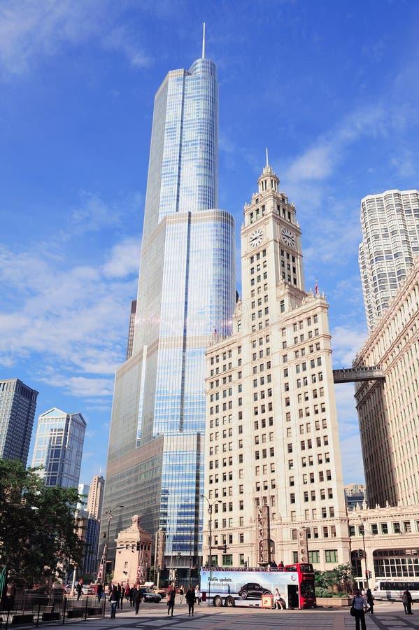 Chicago royalty-vrije stock afbeelding