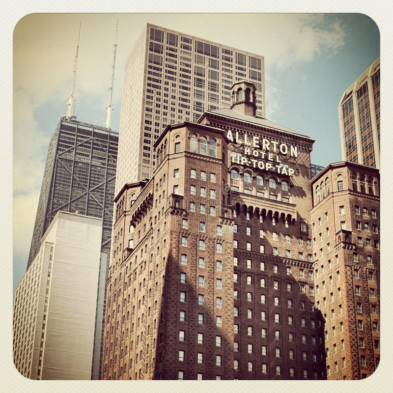 Chicago zdjęcia royalty free