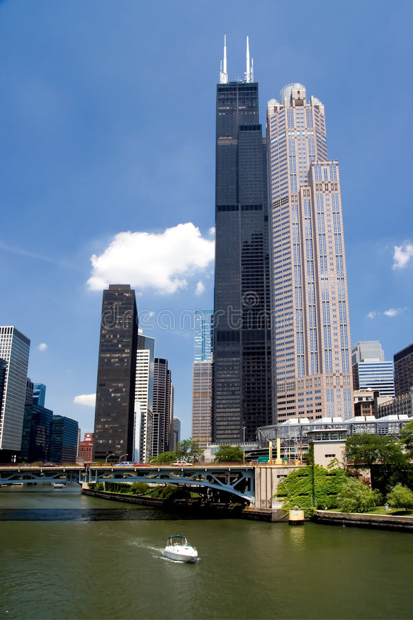 Download Chicago stock image. Image of urban, skyscraper, tall - 3579637
