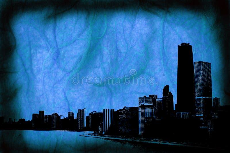 chicago иллюстрация вектора