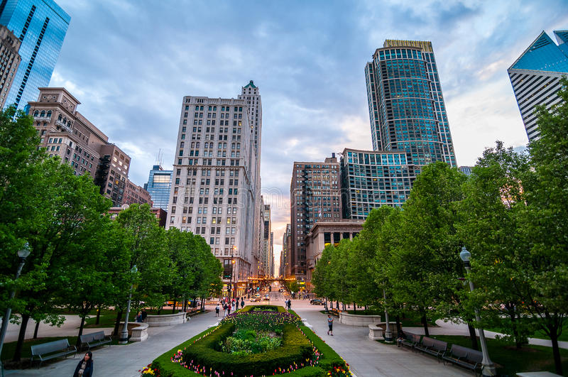 chicago photo stock