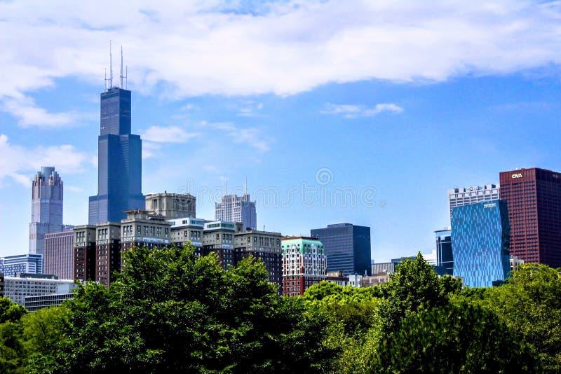 chicago fotografia stock libera da diritti