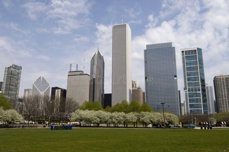 chicago anslags- park arkivfoto