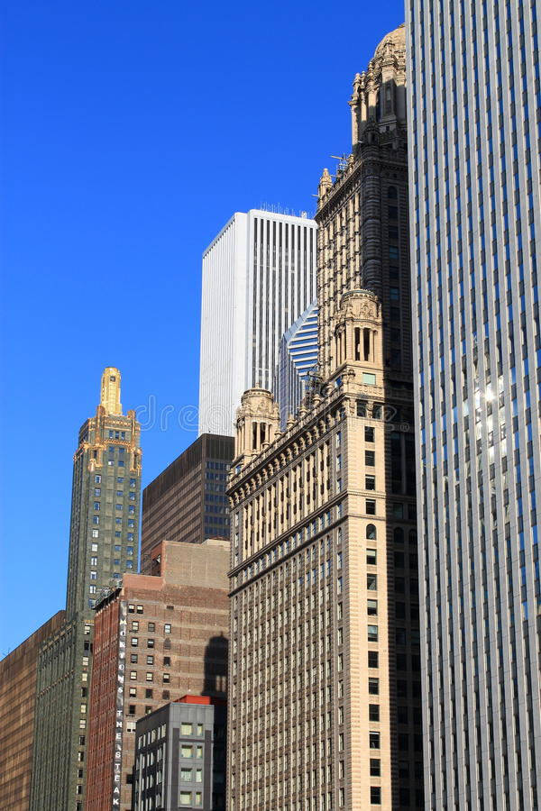 Download Chicago Architecture editorial image. Image of attractions - 26533705