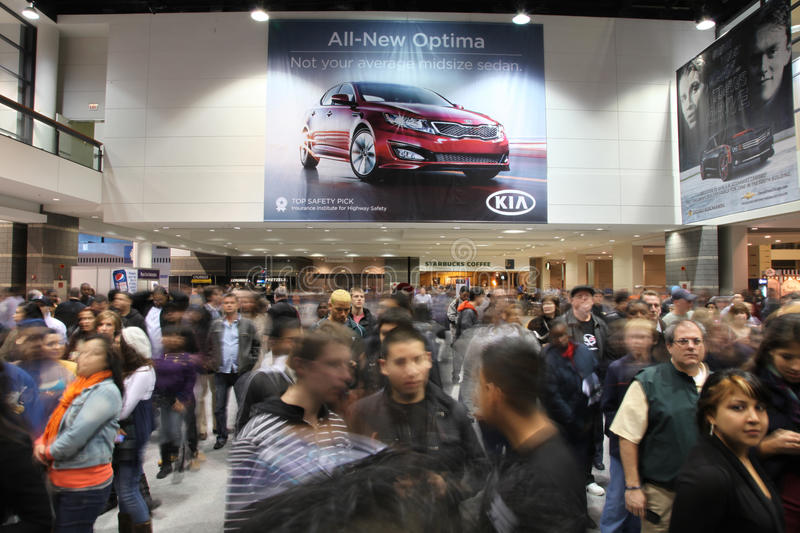 Download Chicago Auto Show editorial stock photo. Image of motion - 18403203
