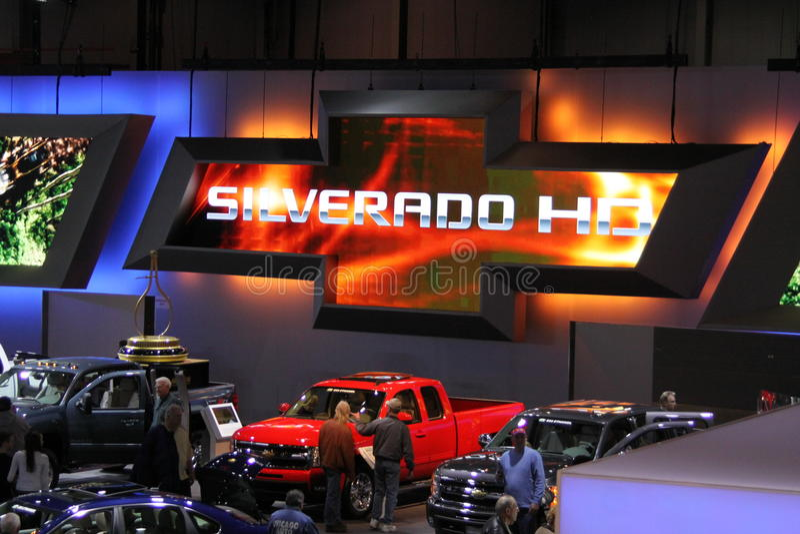 Chicago Auto Show 2011 Editorial Stock Image