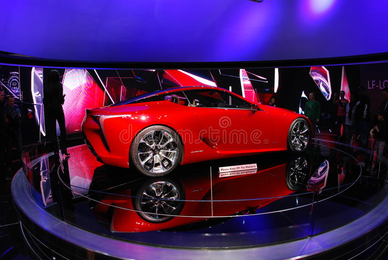 Chicago Auto Show 2012 stock photography