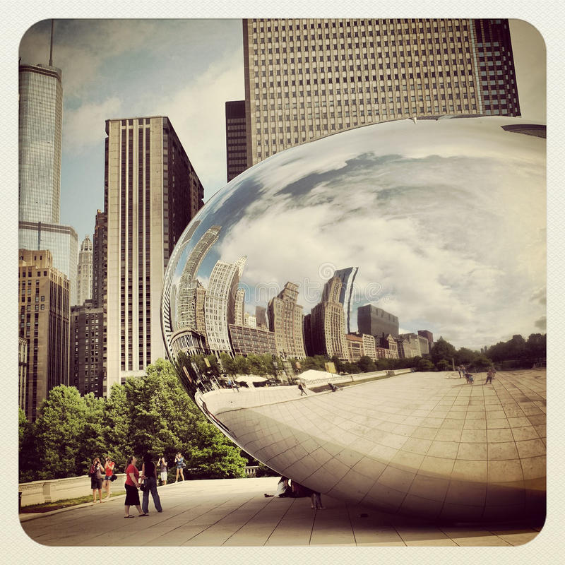 Download Chicago Bean Editorial Stock Photo - Image: 31501953