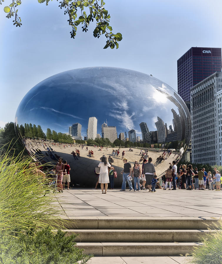 Download Chicago Bean, Millennium Park, Illinois Editorial Photography - Image: 26380487
