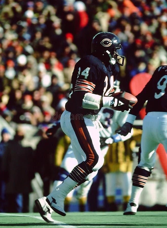 Chicago Bears de Walter Payton image stock
