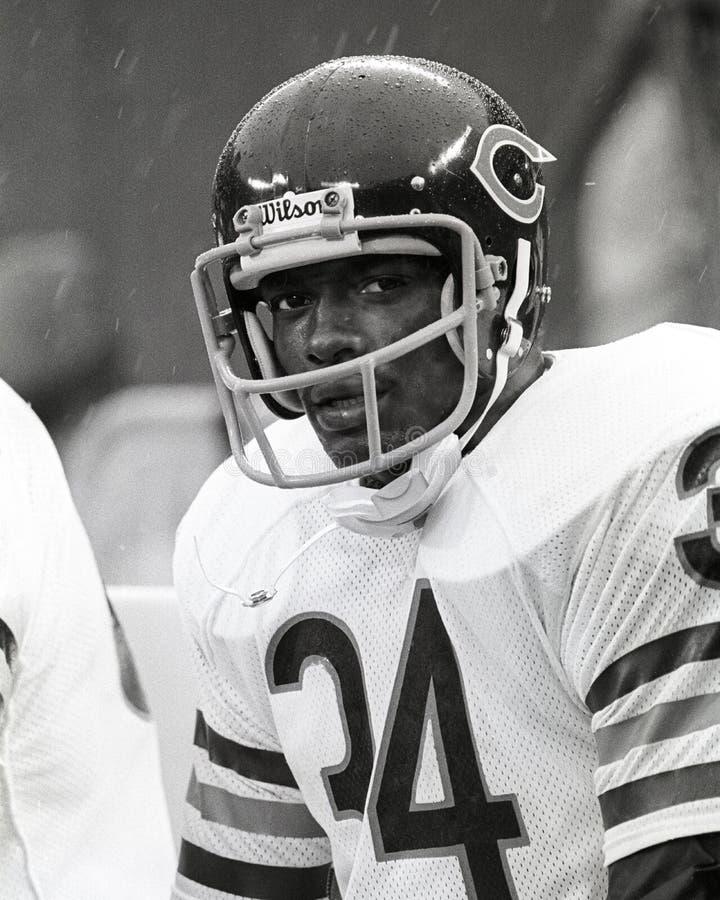 Chicago Bears de Walter Payton fotos de stock