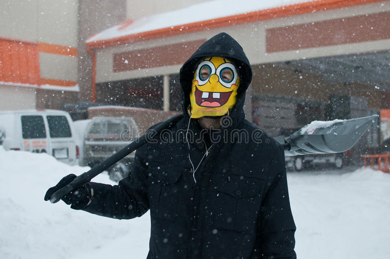 Download Chicago Blizzard editorial image. Image of wind, cold - 28720880