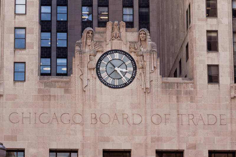 Download Chicago Board of Trade editorial stock image. Image of statue - 20434049