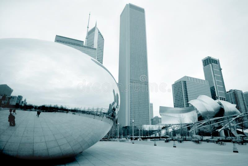 Chicago-Bohne lizenzfreie stockbilder