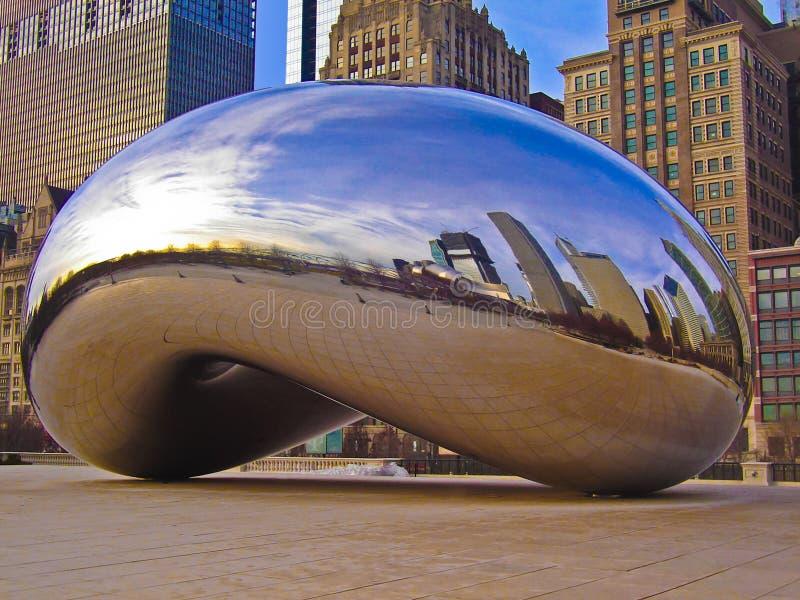 Chicago-Bohne lizenzfreies stockbild
