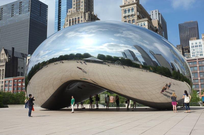 Chicago-Bohne stockbild