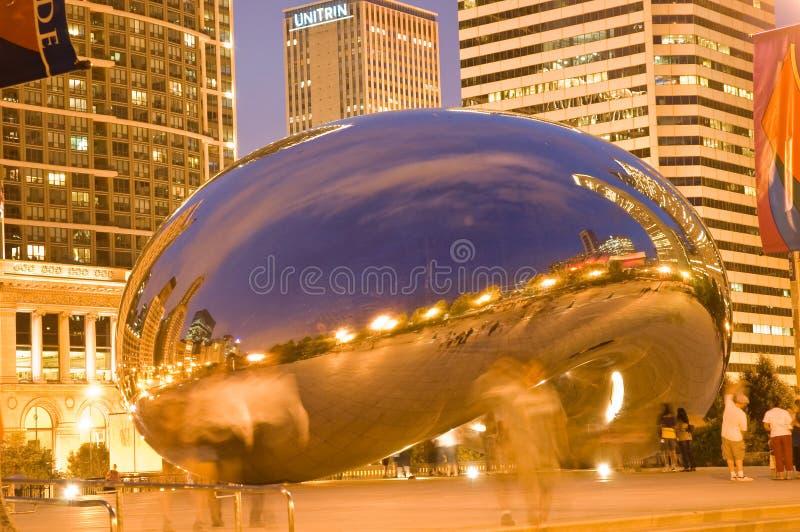 Chicago-Bohne stockbilder